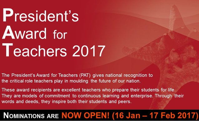 President's Award for Teachers