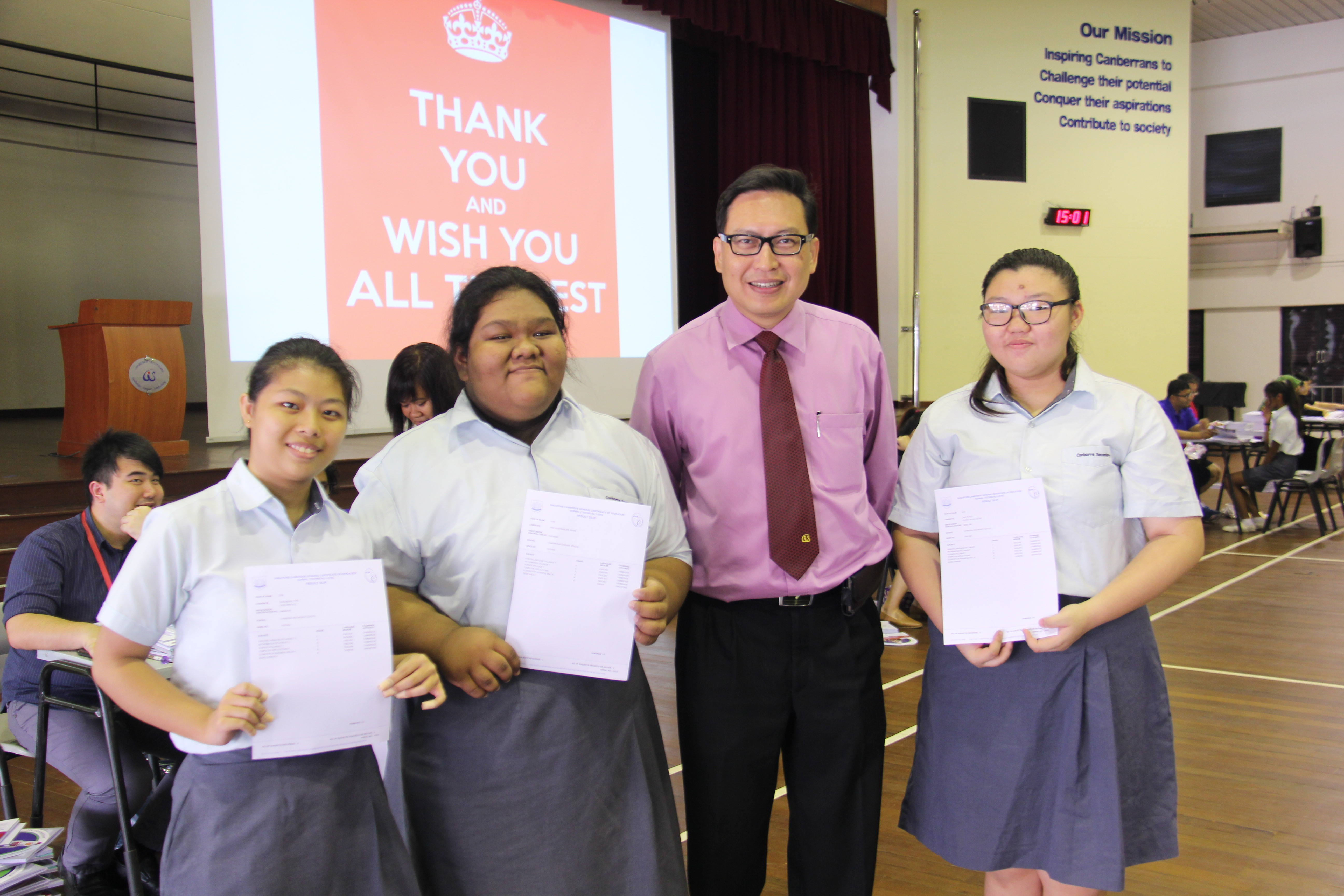 Release of GCE 'N' Level Results